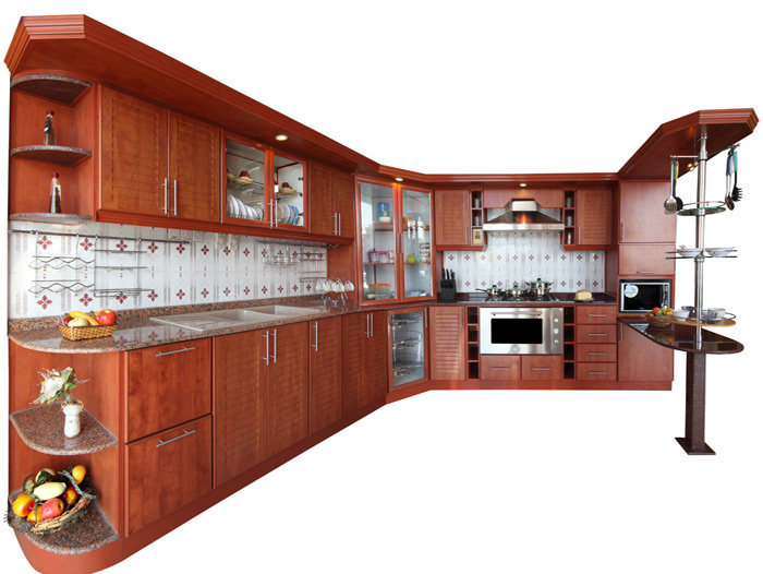 Kitchen interior for Aluminium kitchen cabinets in chennai